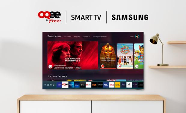 Les abonnés Freebox Pop & Delta peuvent profiter dés aujourd'hui d'OQEE sur les Smart TV Samsung