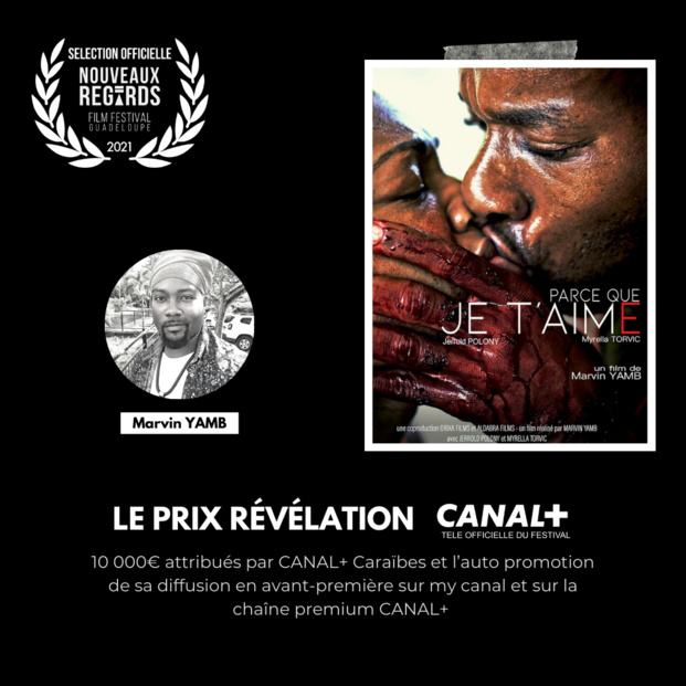 """Guadeloupe: Nouveaux Regards Films Festival 2021, le film du guyanais Marvin Yamb reçoit le """"PRIX REVELATION"""""""