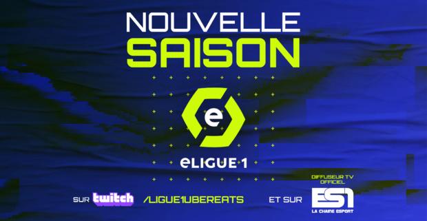 La chaîne ES1 s'associe à la Ligue de Football Professionnel et devient le diffuseur TV officiel de l'eLigue1 2021