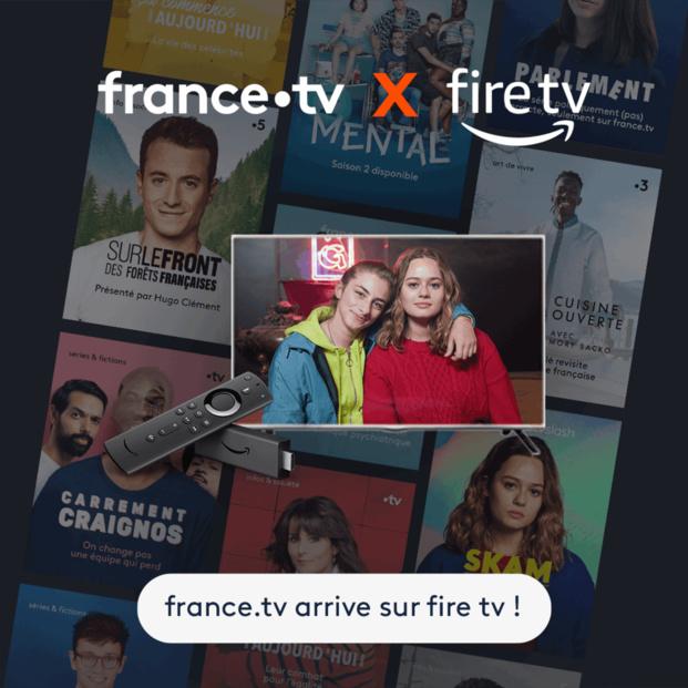 L'offre france.tv disponible dès maintenant sur Fire TV