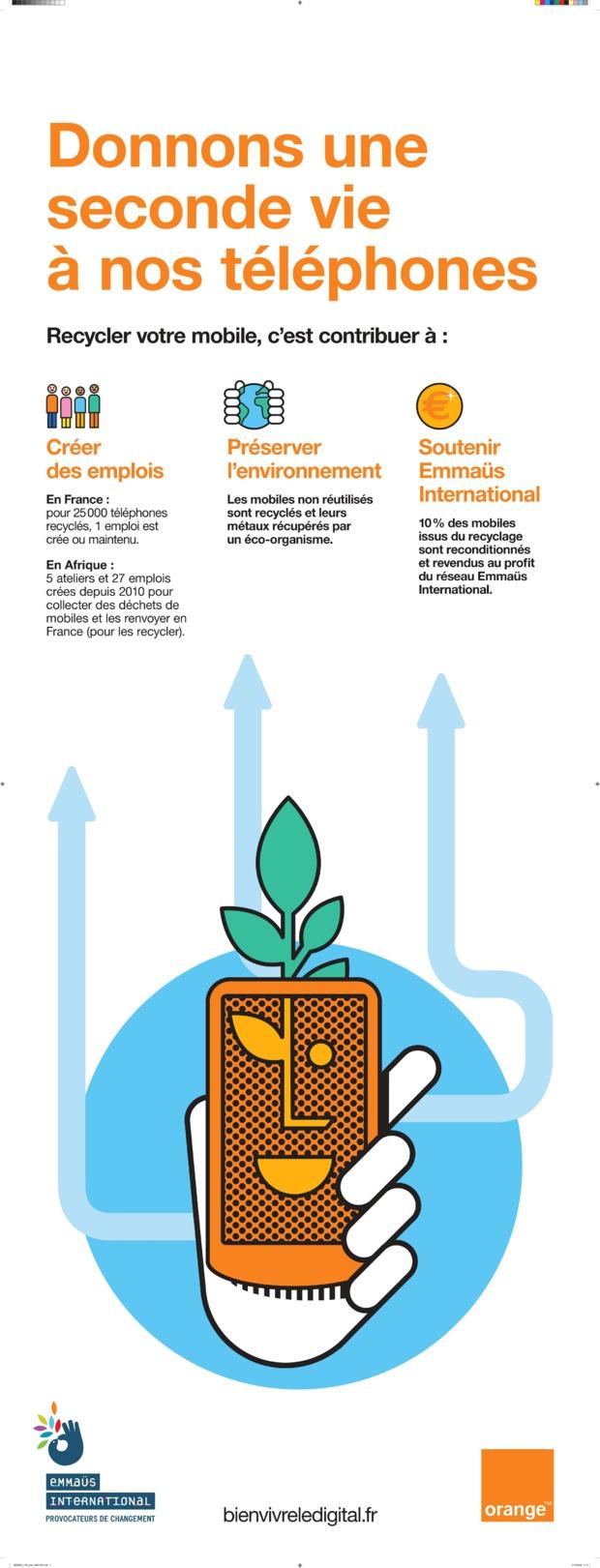 Economie circulaire : Orange Réunion « re », son programme pour accélérer le recyclage, la reprise et le reconditionnement des mobiles