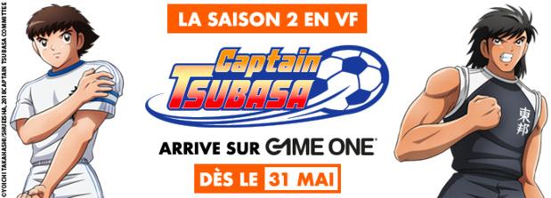 La saison 2 en VF de Captain Tsubasa dès le 31 mai sur GAME ONE