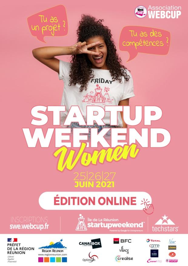 Ouverture des inscriptions du 16e Startupweekend, 2eme Édition Women 100% Online