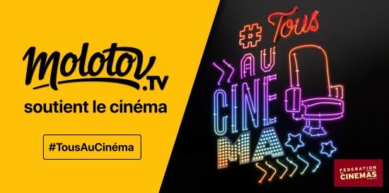 Molotov, partenaire de la campagne de la Fédération Nationale des Cinémas Français