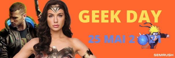 Geek Day: Wonder woman et Naruto, icônes sur le web en 2021