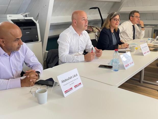 Le Président de l'Ordre National des experts comptables, Lionel Canesi, est à La Réunion