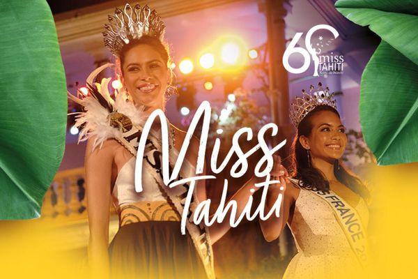 Élection de Miss Tahiti 2021 en direct des jardins de la mairie de Papeete le 25 juin sur Polynésie La 1ère