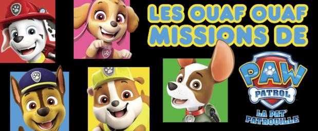 """Programmation spéciale """"La Pat' Patrouille"""" dés aujourd'hui sur Nickelodeon Junior"""