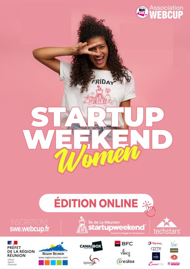La Réunion: J- 3 avant le 16e Startupweekend, 2e édition Women 100% Online