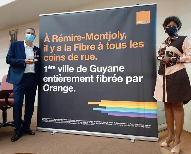 Rémire-Montjoly, première ville fibrée de Guyane
