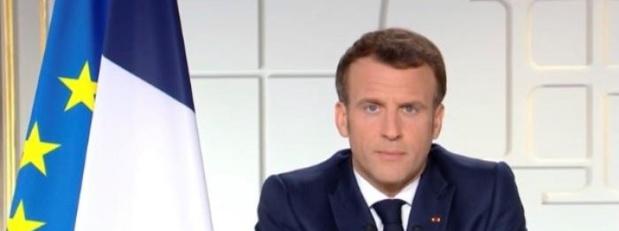 Allocution d'Emmanuel Macron ce lundi en direct sur La 1ère, France 2 et FranceInfo