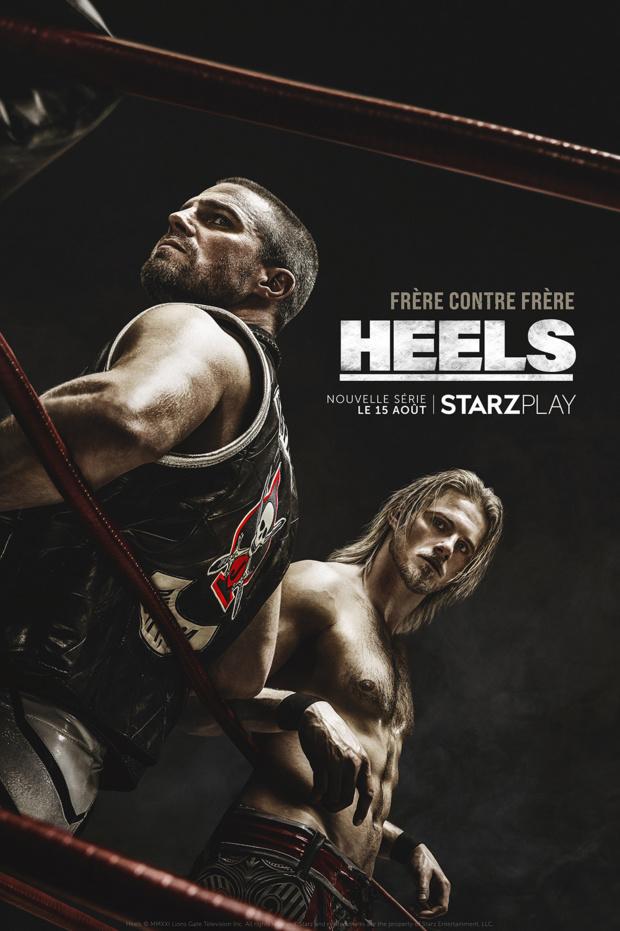 L'histoire de deux frères rivaux dans HEELS, la nouvelle série de STARZPLAY à découvrir dés le 15 août