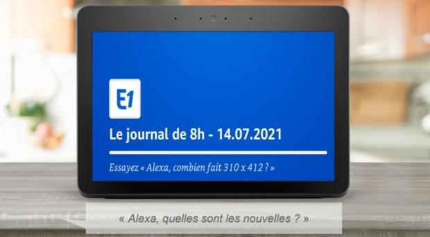 Lancement des chaînes d'informations sur Alexa en France