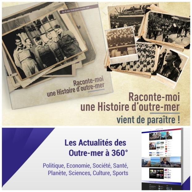 """Le site d'actualités Outremers360 édite """"Raconte-moi Une Histoire d'outre-mer"""""""