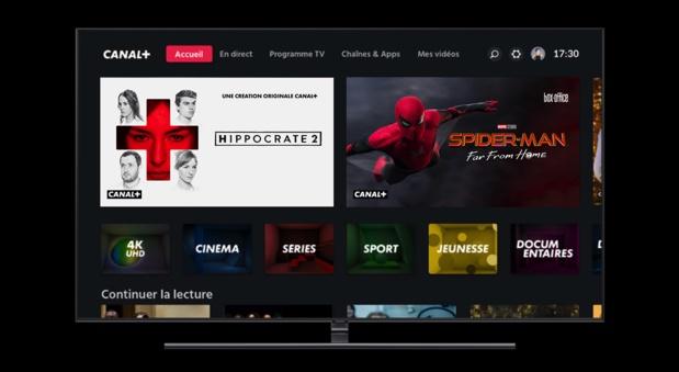 Nouvelles chaînes, Nouvelle interface du décodeur 4K: Une rentrée pleine de nouveautés du côté de Canal+