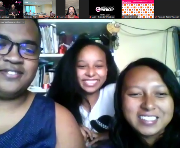 WEBCUP 2021 : Madagascar, lauréate de la huitième finale internationale