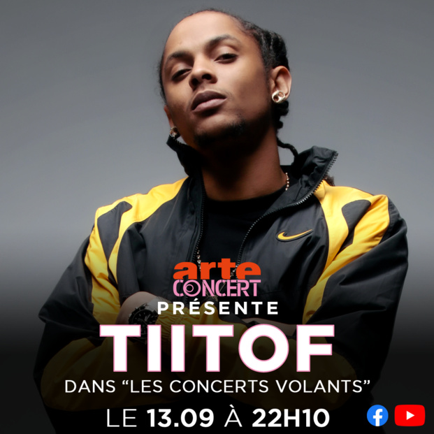 """ARTE Concert / FIP: Les artistes ultramarins SAÏNA MANOTTE, LYCINAÏS JEAN et TITOF à l'honneur dans les """"Concerts volants"""""""