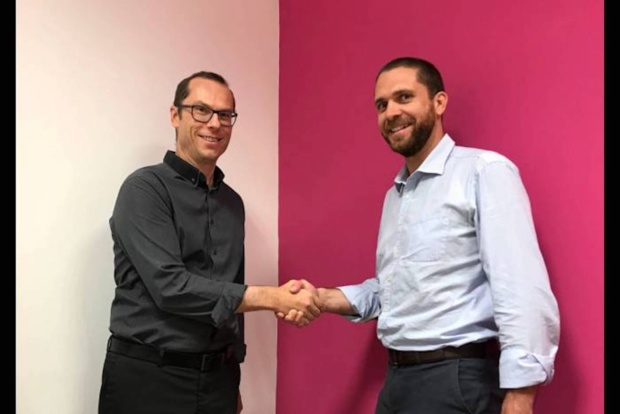 Stéphane Jaillet directeur de la stratégie d'Exodata Cyberdefense et Julien Mauras Président d'Exodata
