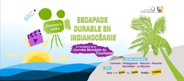 La Représentation de l'OIF pour l'océan Indien lance un concours vidéo à l'occasion de la journée mondiale du tourisme
