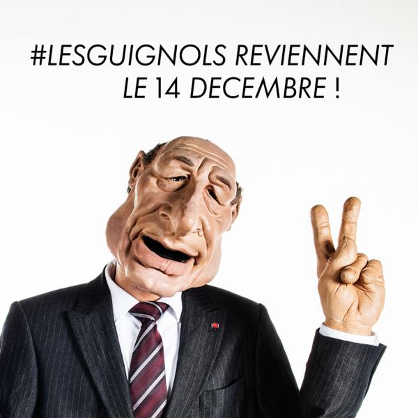 Les Guignols de retour le 14 Décembre sur Canal+