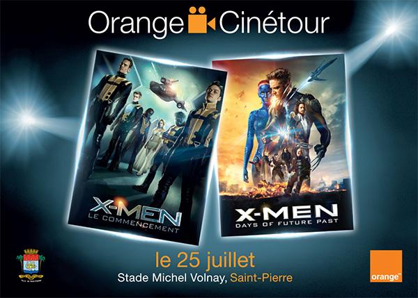Orange lance la deuxième édition du Orange Cinétour le samedi 25 juillet à Saint-Pierre