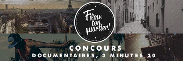 """France 3 lance """"Filme ton Quartier"""" le concours des documentaires courts"""