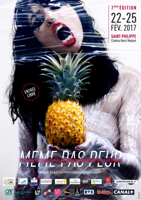 © Affiche de la 6e édition du Festival MEME PAS PEUR