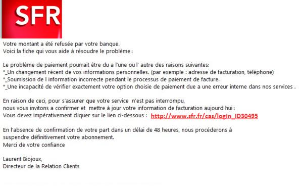 e-mail de Phishing