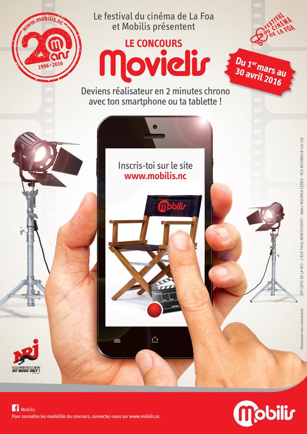 Nouvelle-Calédonie: Mobilis lance un concours de court-métrage