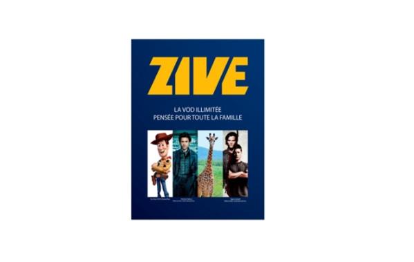 Zive, le service de vidéo à la demande arrive chez SFR Réunion