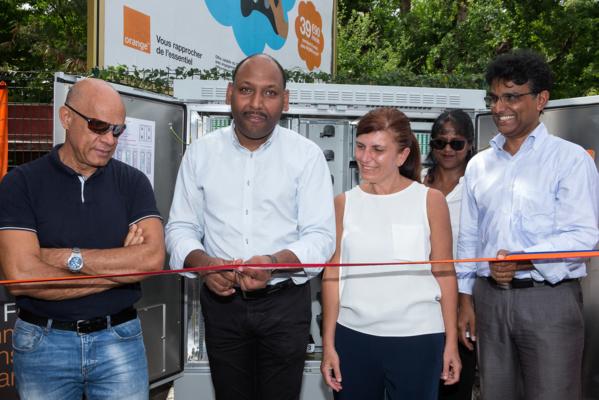 Orange Réunion: La Fibre Optique devient une réalité à Saint Leu