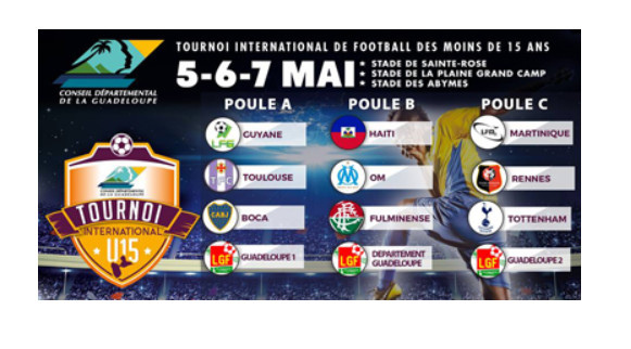 Canal+ Caraibes / Football: Les phases de finale du grand tournoi U15 en direct sur le Canal Évènement