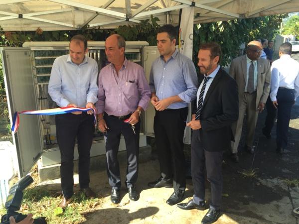 L'État, la Région, la Ville de Sainte-Marie et ZEOP signent une convention de programmation et de suivi des déploiements de la fibre optique pour la commune de Sainte-Marie