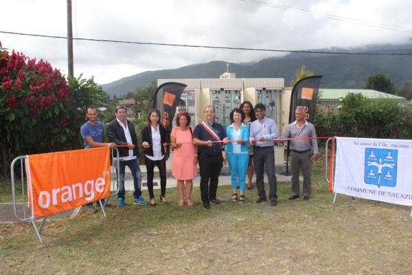 Orange Réunion améliore les débits internet à Salazie