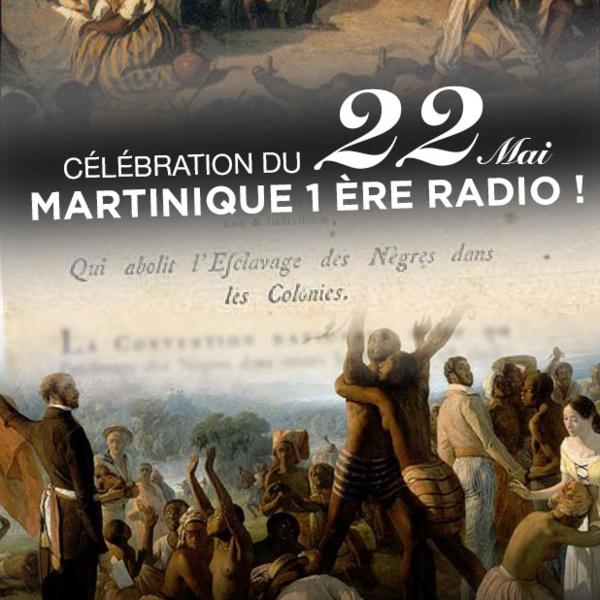 Célébration du 22 Mai sur Martinique 1ère Radio