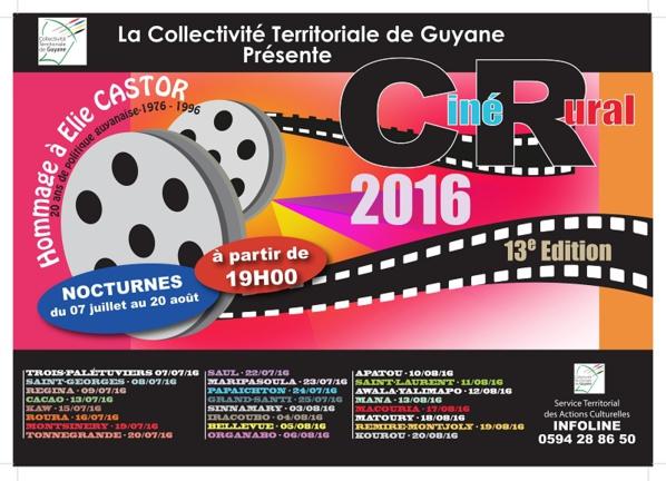 Guyane: Coup d'envoi de la 13è édition de Ciné Rural