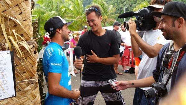 Jérémy Flores, vainqueur de l'étape 2015