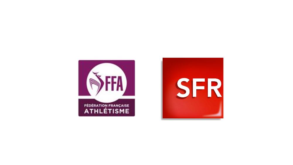 La Fédération Française d'Athlétisme et Altice/SFR signent un accord historique de diffusion exclusif
