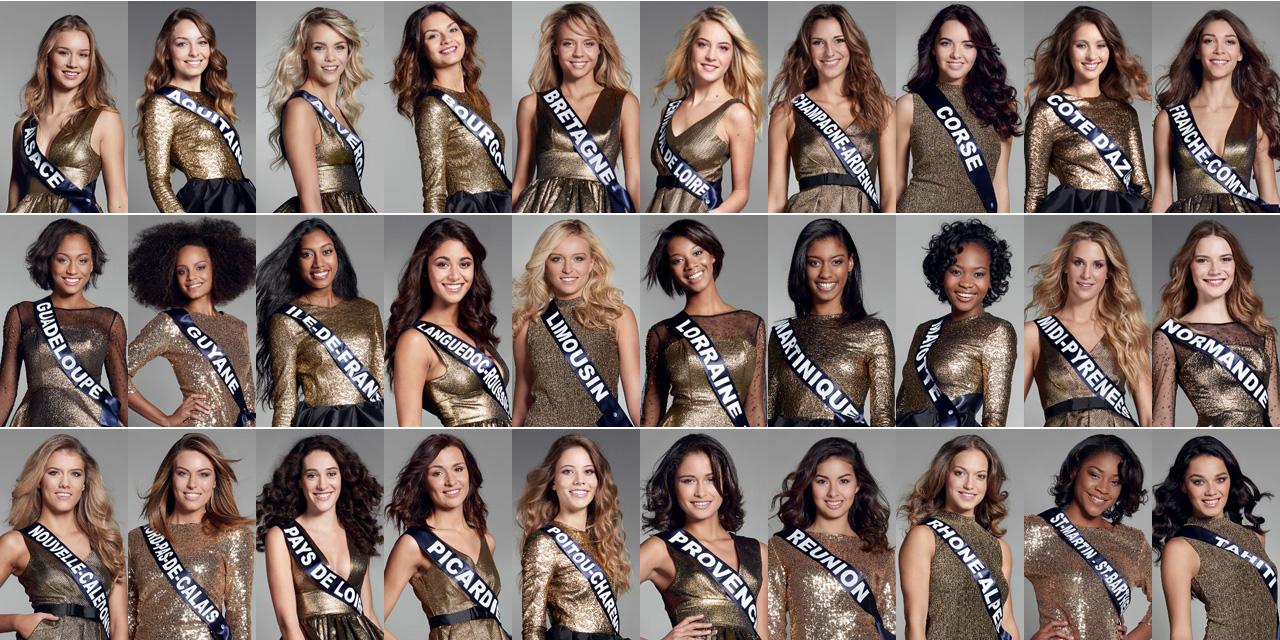 L'élection de Miss France 2017 diffusée sur les chaînes privées ultramarines