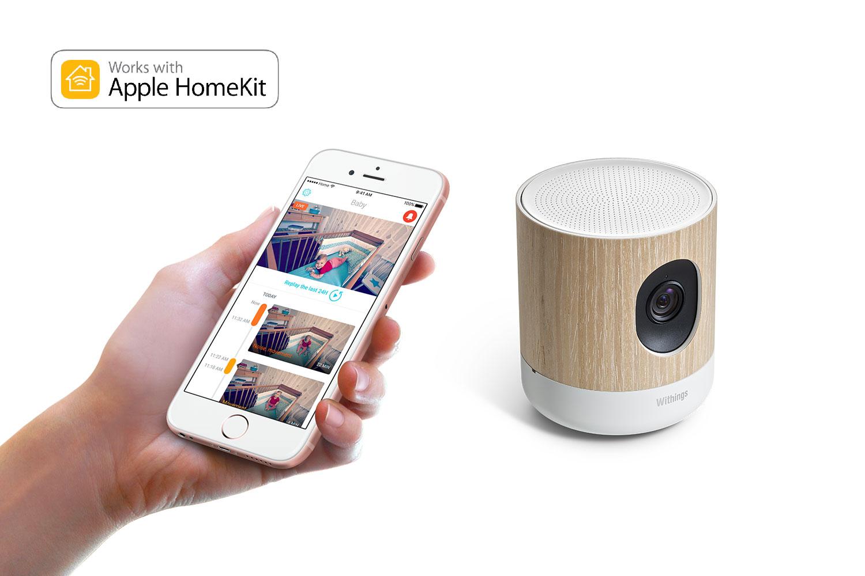 Withings Home Plus est l'un des premiers dispositifs compatibles avec Apple HomeKit