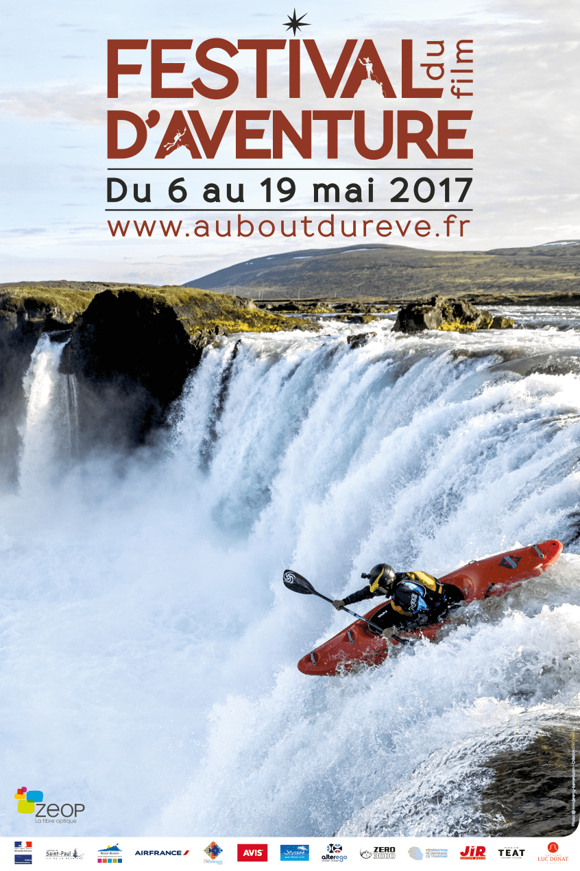 Affiche du Festival du film d'Aventure 2017