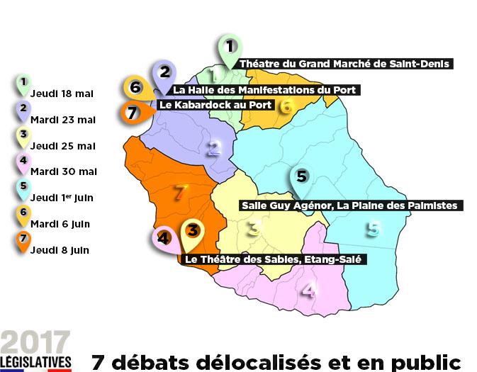 Législatives 2017: Réunion 1ère présente son dispositif