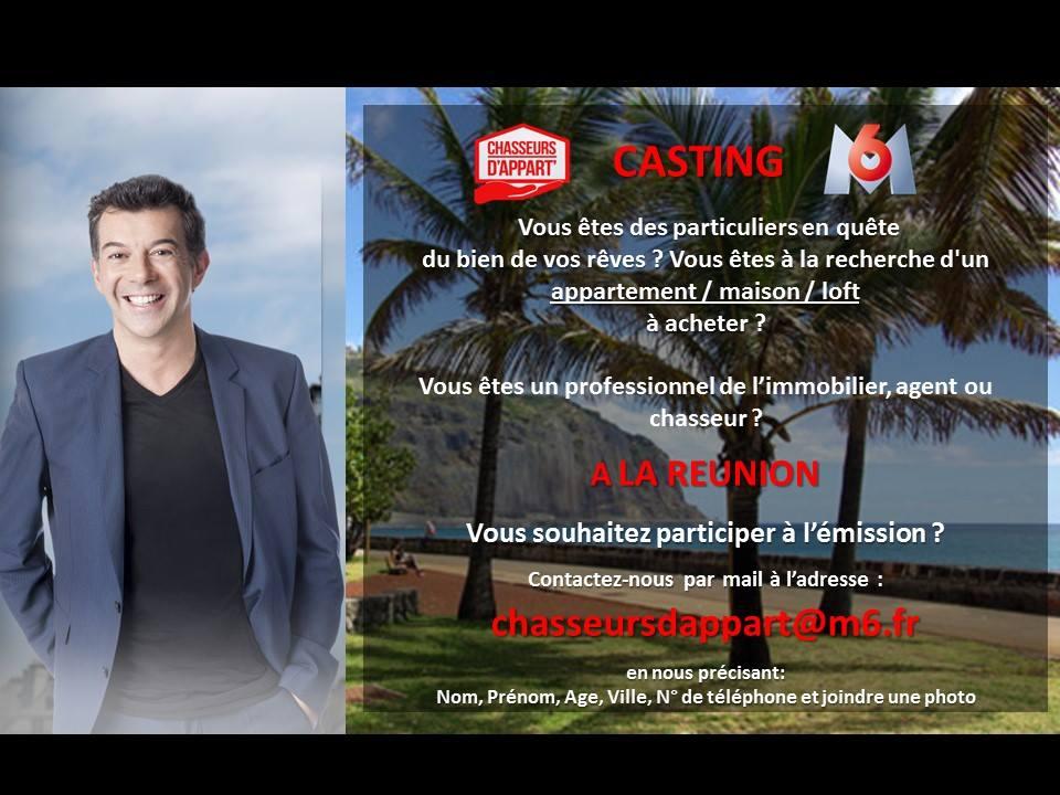 """L'émission de M6 """"Chasseurs d'appart'"""" recherche agents immobiliers et candidats à la Réunion"""