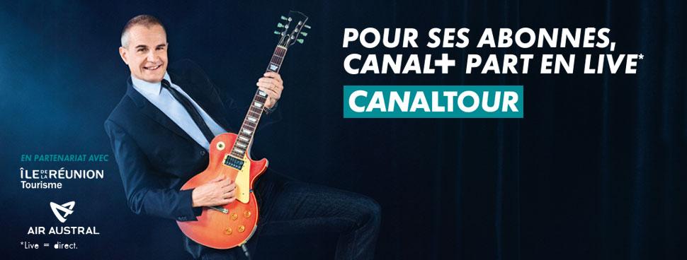 bandeau Canal+ Réunion