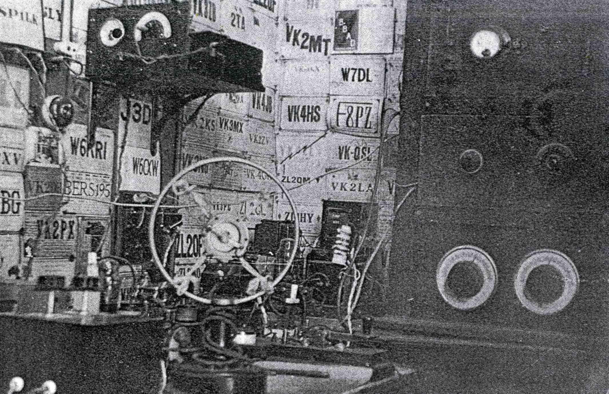 Le studio Gaveau en 1937