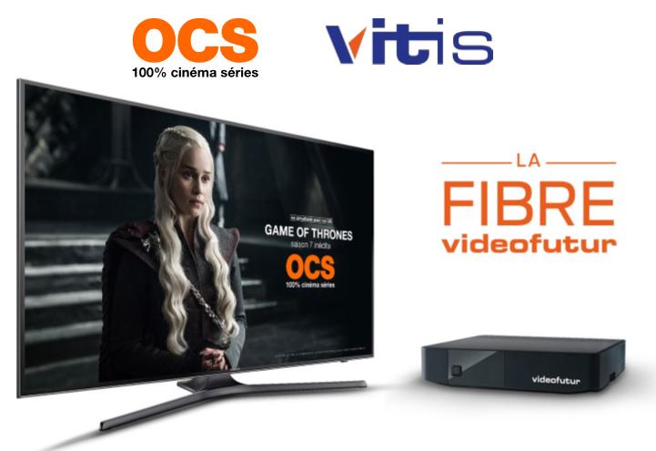 OCS disponible à partir du 1er juin avec la Fibre Videofutur