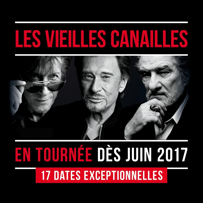 """Évènement: """"Les vieilles Canailles"""" en concert en direct le 24 juin sur TF1"""