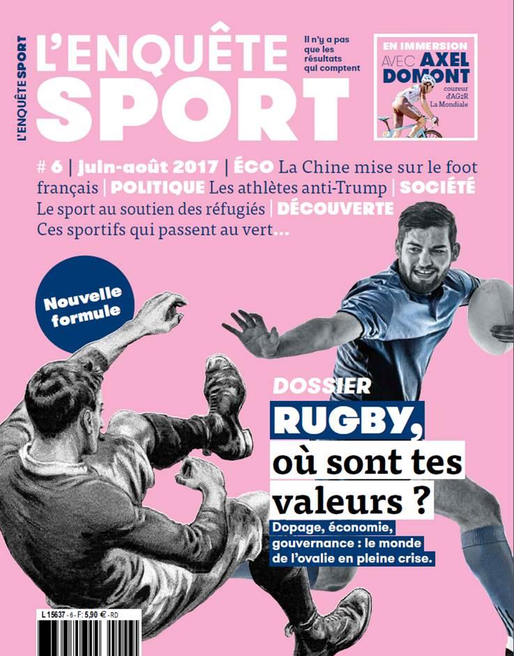 Presse: La nouvelle formule de l'Enquête Sport, disponible le 14 juin