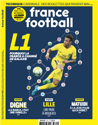 Une de France Football de demain