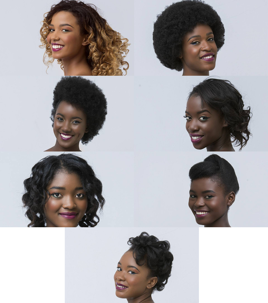 Les 7 candidates Miss Mayotte 2017